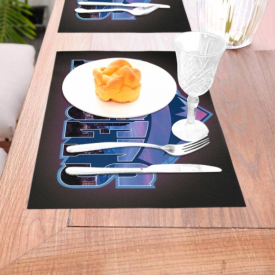 Placemats NBA Denver Nuggets Woven placemat #351837 Holiday gift