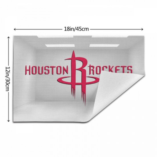 Easy to Clean NBA Houston Rockets Woven placemat #348814 for Kitchen