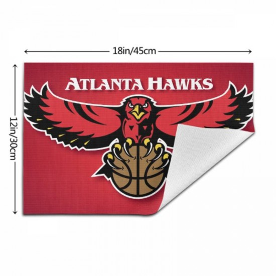 Anti-Skid NBA Atlanta Hawks Woven placemat #353286 Placemats, 18x12 inches